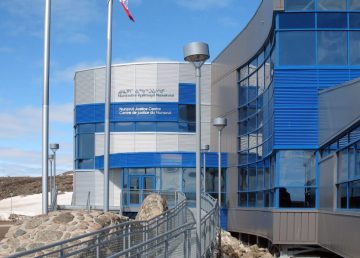 A file photo of the Nunavut Court of Justice