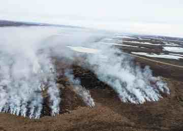 The NWT's fourth wildfire in mid-June. NWT Fire/Facebook