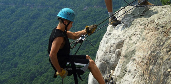 The Cabins at Pinehaven, WV Outdoor Adventure Package, Rock Climbing