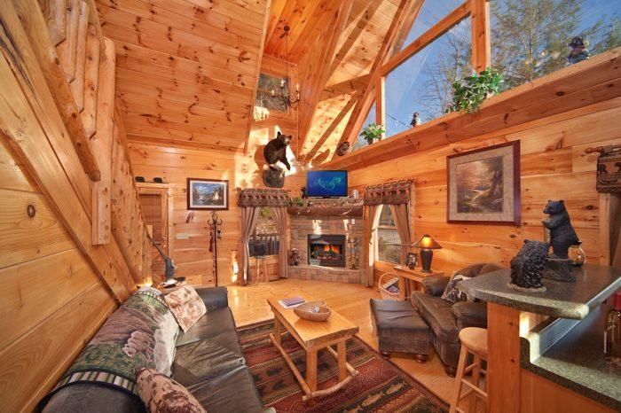 Private Gatlinburg 2BR Cabin Rental