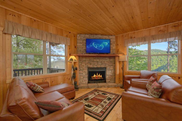 Timber Top Cabin Views  Wears Valley Cabin  Tip Top