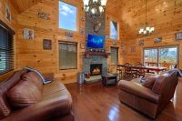 2 Bedroom Mountain View Cabin in Gatlinburg, TN
