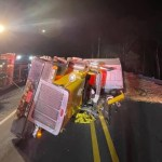 Truck Driver in Critical Condition After Early Morning Wreck in Moneta