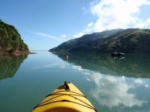 KAYAKING on Cable Bay estuary