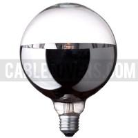 Halogen globe bulb G125 | Bottom mirror - Cablelovers