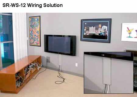 Cacher Les Cables Tv Au Mur