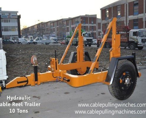 Cable Drum Trailer cable pulling machines Cable Pulling Machines and Cable Drum Trailers Manufacturer! Cable Pulling Machines 103 1