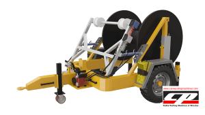 hydraulic cable drum trailers Full Hydraulic Cable Drum Trailers AUTO4 4 Tons Full Hydraulic Drum Trailers 4