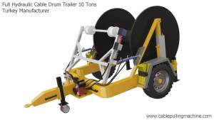 Full Hydraulic Cable Drum Trailer 10 Tons Manucafturer Turkey 4 full hydraulic cable drum trailers Full Hydraulic Cable Drum Trailers AUTO10 Full Hydraulic Cable Drum Trailer 10 Tons Manucafturer Turkey 4