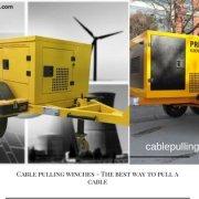 Cable Pulling Winches cable pulling winches Cable Pulling Winches – a few information that you did not know before Cable Pulling Winches