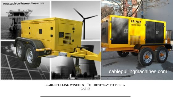 Cable Pulling Winches cable pulling winches Cable Pulling Winches – a few information that you did not know before Cable Pulling Winches