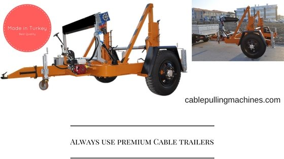 Cable Trailer cable trailer Always use premium Cable trailers Cable Trailer