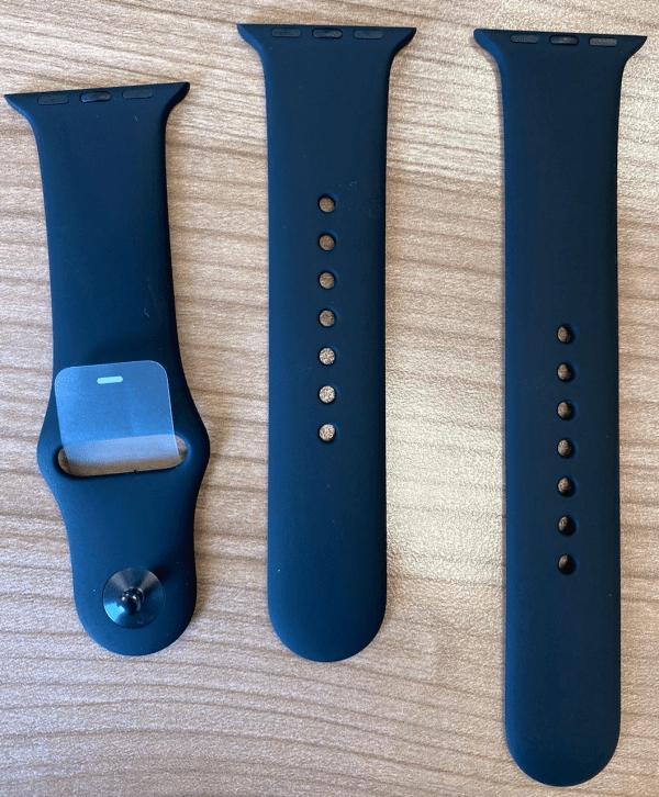 Apple Watch Sport Band Strap Black 38 40mm – S M & M L