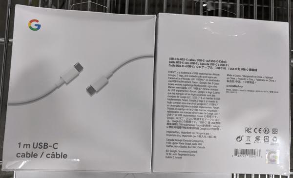 GOOGLE GA00735 WHITE RETAIL CABLE USB TYPE C