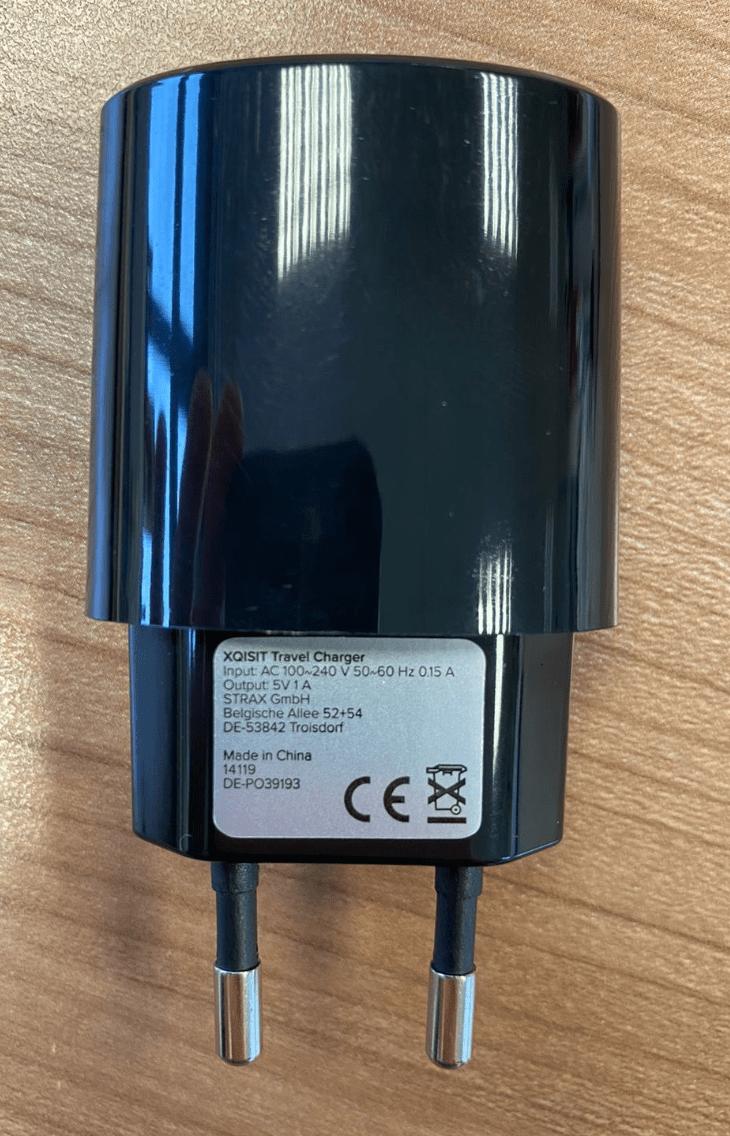 Xqisit EU 1amp - 2 PIN Plug