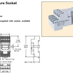 14 Pin Relay Socket Wiring Diagram Cub Cadet Slt1554 Resistors By Nte And Others 1200010 Miniature