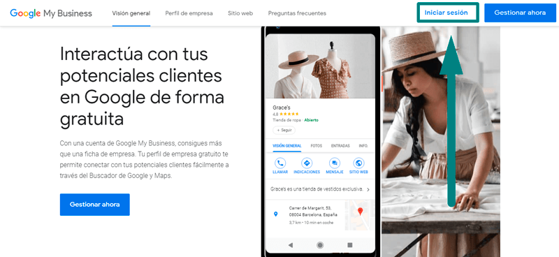 que es google my business y como implementarlo_iniciar sesion