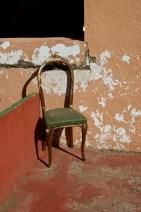 Chair in an abandoned venta N-340a between Tabernas & Sorbas