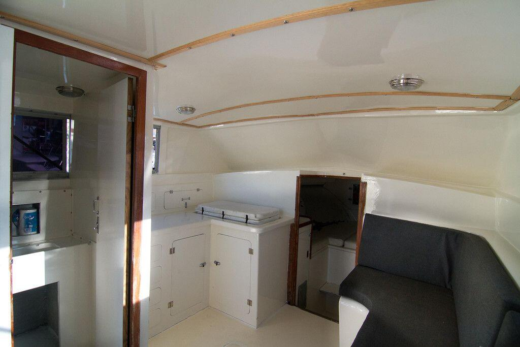 33ft Bertram Interior
