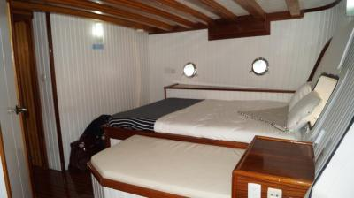 stateroom on 90ft Galeon Luxury Yacht Rentals in La Paz