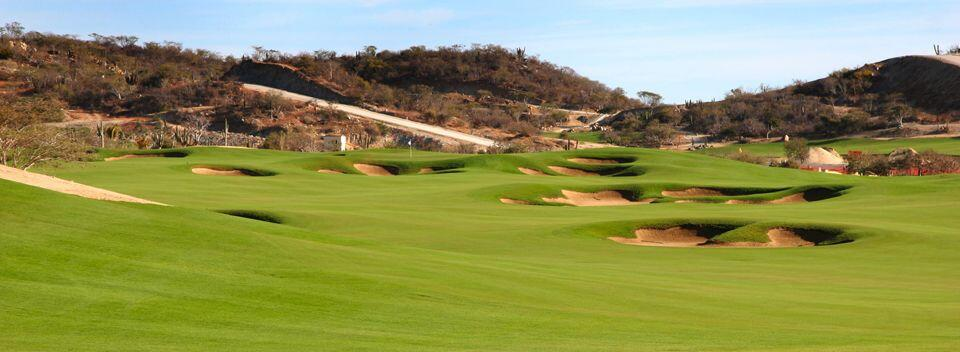 Club Campestre San Jose shows many bunkers undulations common Jack Nicklaus Designed questro golf
