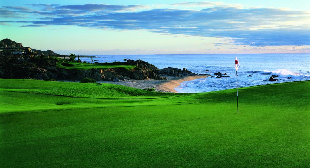 Cabo del Sol Ocean course at twilight in cabo san lucas discount golf