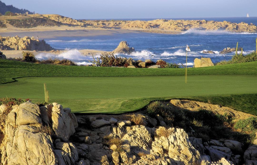 Cabo del Sol Ocean course waterside green