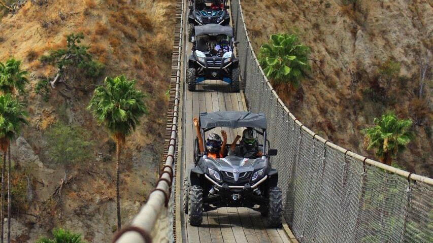 wild canyon cabo razor tour crossing longest pedestrian suspension bridge is one of the best things to do in cabo san lucas cabo st lucas cabo san lucas land tours