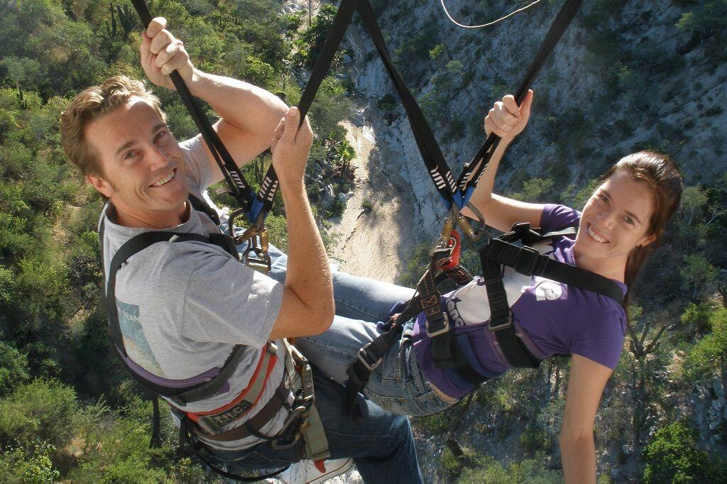 Sling Swinger wild canyo cabos best zip line canyon cabosanlucastours cabo activities