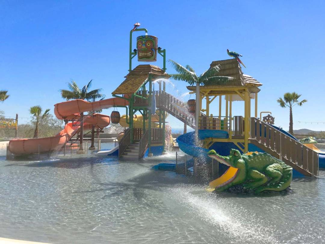 Wild Canyon Water park for all ages including kids acivities in los cabos