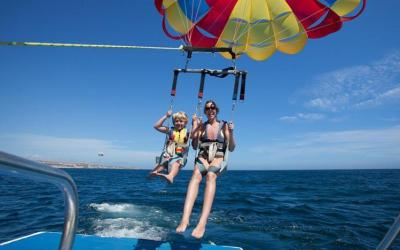 cabo parasailing great kids activities