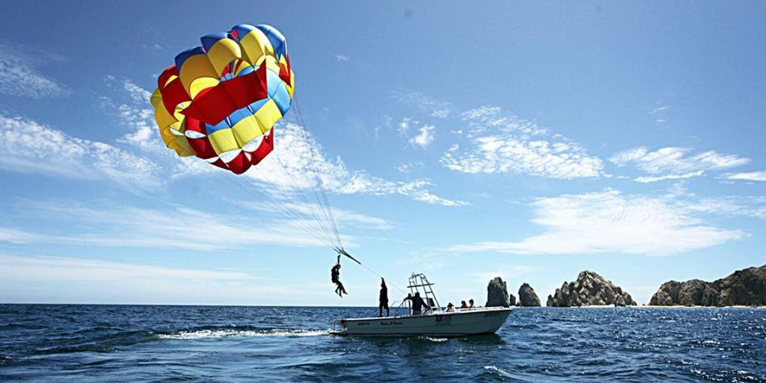 try parasailing in cabo san lucas on your next los cabos vacation