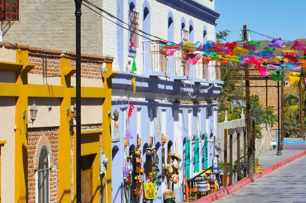 streets of todos santos mexico, baja california sur city tours
