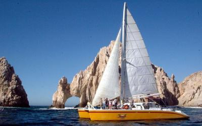 Tropical Wine and Jazz Booze Cruise in Cabo