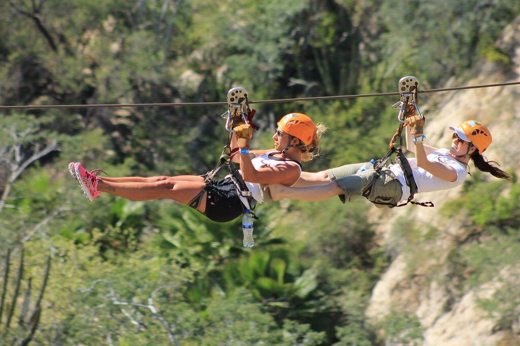double up on the best zip line tour in los cabos cabo san lucas land tours