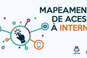 mapeamento de acesso a internet
