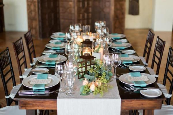 RUSTIC BEACH WEDDING DÉCOR