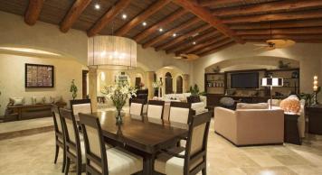 villa damiana los cabos luxury vacation rentals cabo san lucas dining area