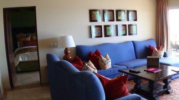 lounge area Pueblo Bonito Montecristo Estates offers spectacular ocean views of the pacific ocean in cabo san lucas, overlooking quivira golf club