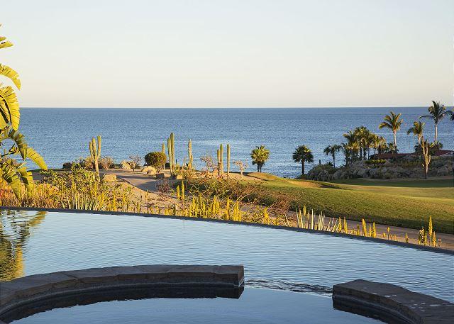 Casa Sahuaro en Cabo del Sol Luxury Rental Villas in Cabo San Lucas ocean view over pool view