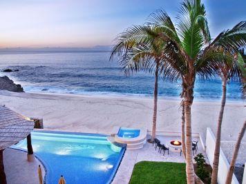 casa del mar palmilla los cabos luxury oceanfront rental villa Pool view