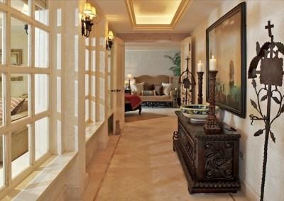 villa la roca pedregal cabo san lucas luxury villa rentals in los cabos hallway