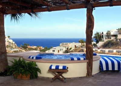 villa del toro rojo pedregal cabo san lucas luxury villa rentals in los cabos view over pool