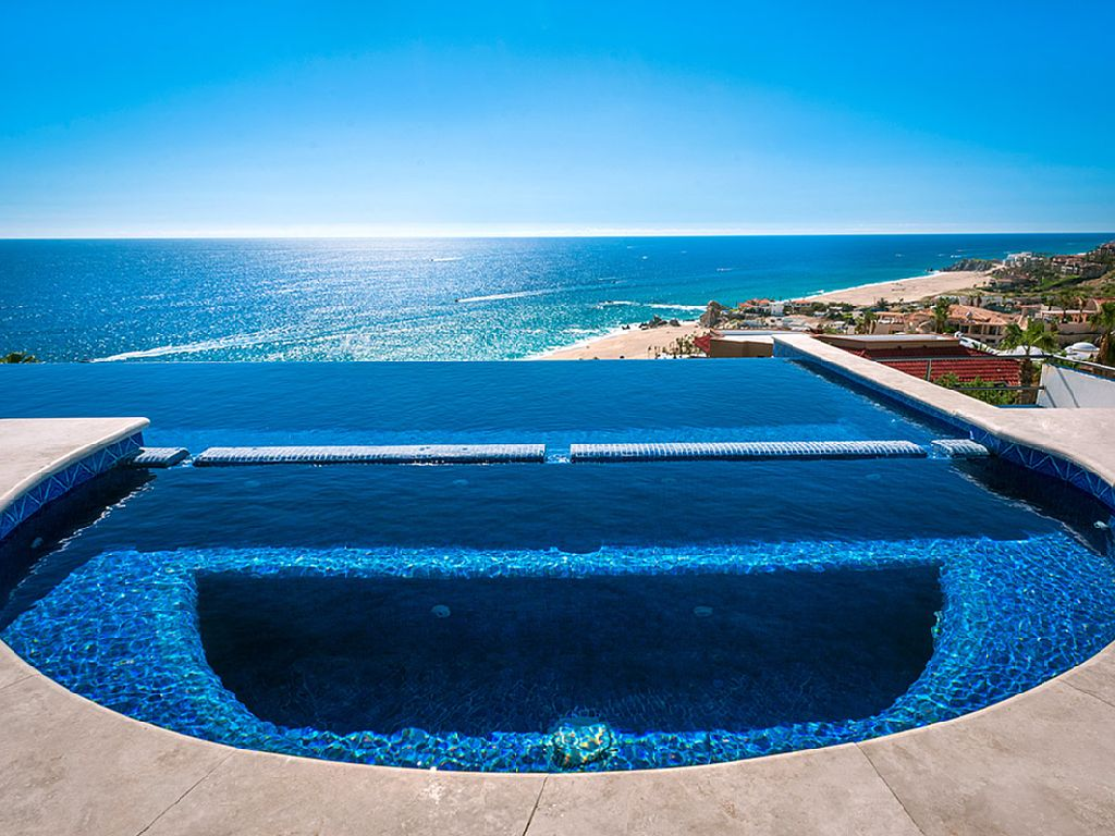 casa theodore in Pedregal los cabos luxury vacation villas cabo san lucas jacuzzi