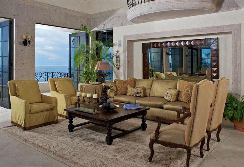 villa la roca pedregal cabo san lucas luxury villa rentals in los cabos living area