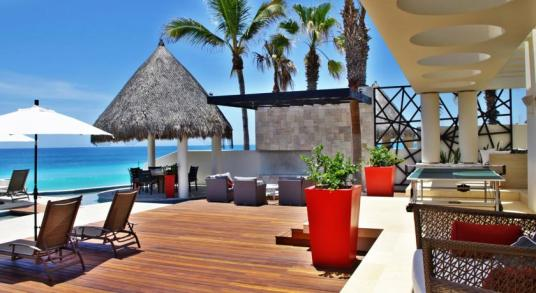 casa mateo in los cabos luxury vacation rentals pool decks