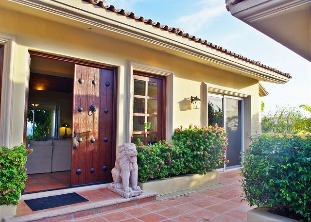 Additional Entrance Casa Stamm in Cabo del Sol, Cabo San Lucas Luxury Villa Rentals