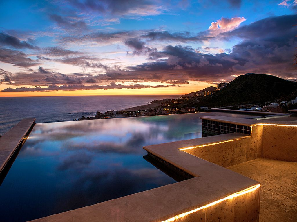 casa theodore in Pedregal los cabos luxury vacation villas cabo san lucas sunset by the pool cabo rental villas