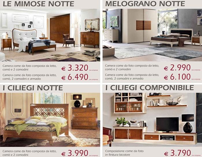 Le Fablier Camera Da Letto Melograno | Mobile Per Impilare ...