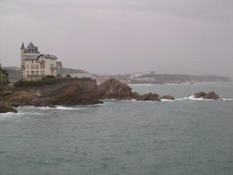Costa cerca de Biarritz